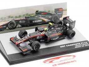 Bruno Senna HRT F110 #21 brasiliansk GP formel 1 2010 1:43 Altaya