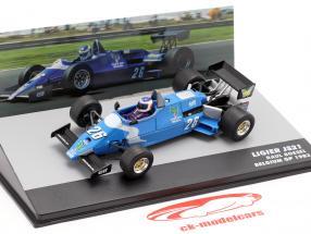 Raul Boesel Ligier JS21 #26 belga GP fórmula 1 1983 1:43 Altaya