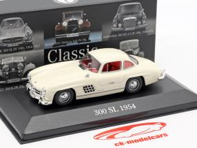 Mercedes-Benz 300 SL (W198) ano de construção 1954-1957 brilhante marfim 1:43 Premium Collectibles