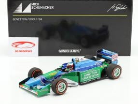 Mick Schumacher Benetton B194 #5 Demo Run GP Spa formula 1 2017 1:18 Minichamps