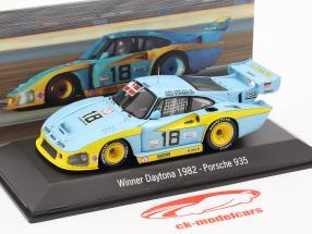 Porsche 935 #18 Winnaar 24h Daytona 1982 JLP Racing 1:43 Spark