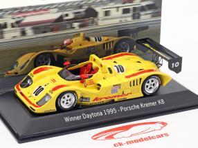Porsche Kremer K8 #10 Gagnant 24h Daytona 1995 Kremer Racing 1:43 Spark