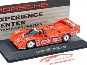 Porsche 962 #8 Vincitore 12h Sebring 1985 Wollek, Foyt 1:43 Spark
