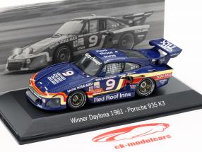Porsche 935 K3 #9 Winnaar 24h Daytona 1981 Garretson Racing 1:43 Spark
