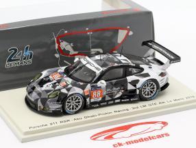 Porsche 911 RSR #88 24h LeMans 2016 Al Qubaisi, Long, Hansson 1:43 Spark