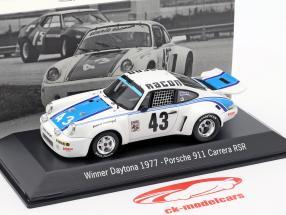 Porsche 911 Carrera RSR #43 Vinder 24h Daytona 1977 Ecurie Escargot 1:43 Spark