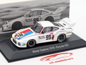 Porsche 935 #99 Vencedor 24h Daytona 1978 Brumos Porsche 1:43 Spark