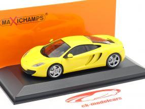 McLaren 12C ano 2011 amarelo 1:43 Minichamps