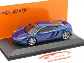 McLaren 12C anno 2011 blu 1:43 Minichamps
