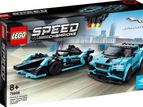 LEGO® Speed Champions Formula E Panasonic Jaguar Racing GEN2 car & Jaguar I-PACE eTROPHY