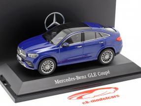 Mercedes-Benz GLE Coupe C167 brillant blau 1:43 iScale