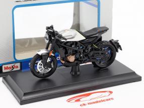 Husqvarna Motorcycles Vitpilen 701 anno di costruzione 2018 nero / argento 1:18 Maisto