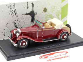 Simson Supra 18/90 Typ A year 1931 dark red 1:43 AutoCult