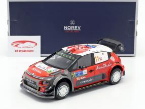 Citroen C3 WRC 2018 #11 Rally Mexico 2018 Loeb, Elena 1:18 Norev