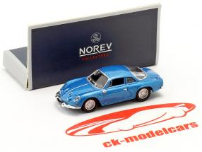 Alpine A110 anno di costruzione 1973 blu metallico 1:87 Norev