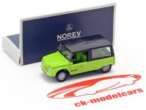 Citroen Mehari año de construcción 1983 verde 1:87 Norev
