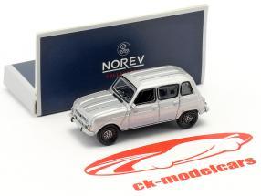 Renault 4 GTL ano de construção 1987 cinza metálico 1:87 Norev