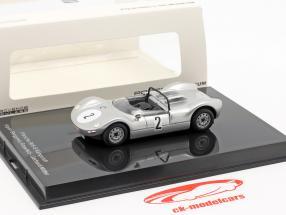 Porsche 906/8 Känguruh #2 ganador Hill climb Rossfeld 1965 Gerhard Mitter 1:43 Norev