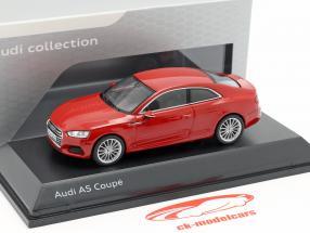 Audi A5 Coupe tango rood 1:43 Spark