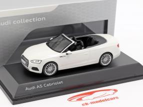 Audi A5 Cabriolet Baujahr 2017 tofana weiß 1:43 Spark