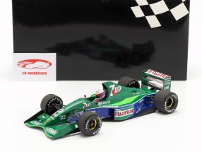 Bertrand Gachot Jordan 191 #32 6e Brits GP F1 1991 1:18 Minichamps