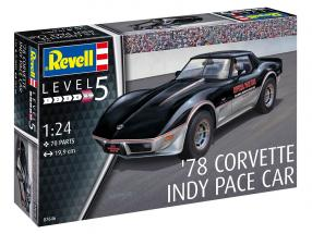 Chevrolet Corvette Pace Car Indy 500 1978 equipo 1:24 Revell