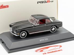 BMW 503 Hardtop Baujahr 1956-1960 schwarz 1:43 Schuco