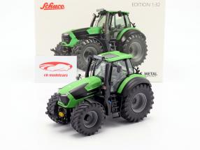 Deutz-Fahr 9310 TTV Agrotron tractor green / black 1:32 Schuco