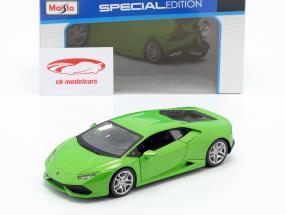 Lamborghini Huracan LP610-4 Baujahr 2014 grün 1:24 Maisto