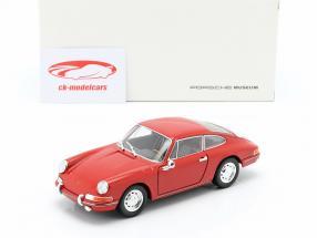 Porsche 911 anno di costruzione 1964 rosso 1:24 Welly