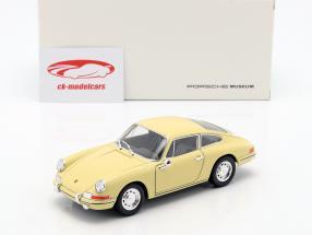 Porsche 911 ano de construção 1964 amarelo 1:24 Welly