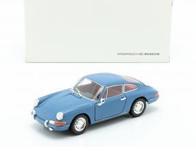 Porsche 911 year 1964 blue 1:24 Welly