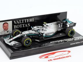 Valtteri Bottas Mercedes-AMG F1 W10 #77 winnaar VS GP F1 2019 1:43 Minichamps