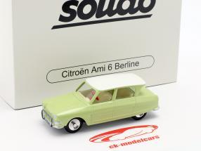 Citroen Ami 6 Berline Bouwjaar 1961 licht groen 1:43 Solido