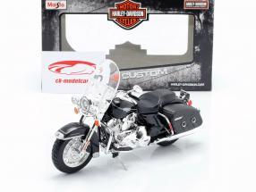 Harley Davidson FLHRC Road King Classic 2013 zwart 1:12 Maisto