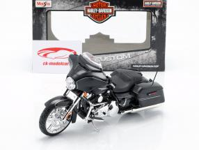 Harley Davidson Street Glide Special ano de construção 2015 preto 1:12 Maisto