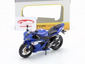 Yamaha YZF-R1 anno di costruzione 2004 blu / bianco / argento 1:12 Maisto