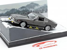Aston Martin V8 Vantage James Bond Movie Car der Hauch des Todes Ixo 1:43
