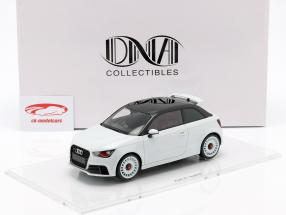 Audi A1 quattro Opførselsår 2012 hvid metallisk 1:18 DNA Collectibles