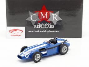 Masten Gregory Maserati 250F #26 cuarto italiano GP fórmula 1 1957 1:18 CMR
