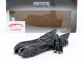 Batmobile con Batman cifra film Batman 1989 1:24 Jada Toys