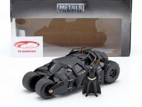 Batmobile com ordenança figura filme The Dark Knight 2008 1:24 Jada Toys