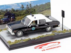 Chevrolet Nova Police Car James Bond-film The Life and Death 1:43 Ixo vertrekken