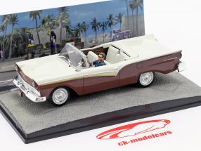 Ford Fairlane Car James filme de James Bond Die Another Day 1:43 Ixo