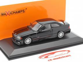 BMW M3 (E36) coupe ano de construção 1992 preto 1:43 Minichamps