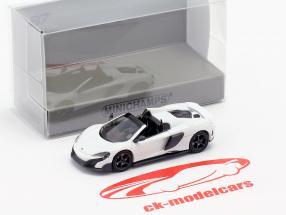 McLaren 675LT Spider año de construcción 2016 blanco 1:87 Minichamps