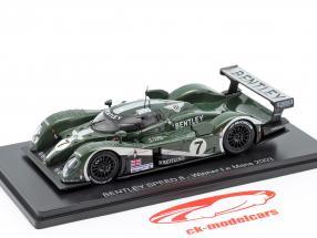 Bentley Speed 8 #7 Vinder 24h LeMans 2003 Kristensen, Capello, Smith 1:43 Spark