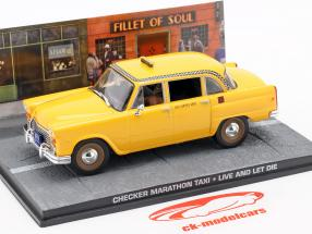 Checker Marathon Taxi James Bond Movie vida del coche y la muerte dejan 1:43 Ixo
