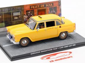Checker Marathon Taxi James Bond vie de voiture et la mort laissent 1:43 Ixo