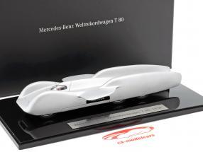 Mercedes-Benz mundo registro carro T 80 ano de construção 1939 prata 1:43 Autocraft